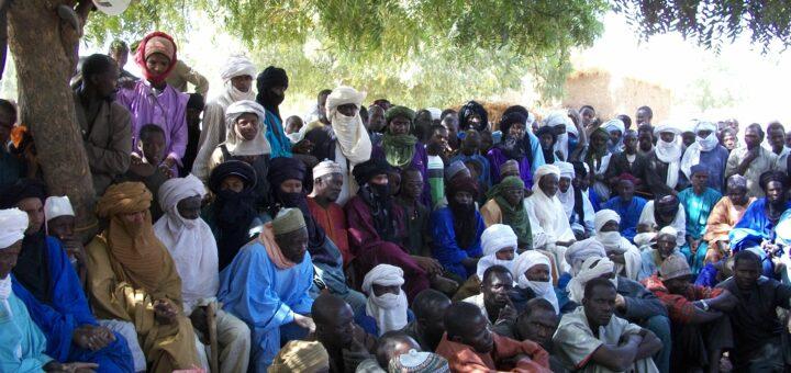 Assemblée villageoise Niger 2010